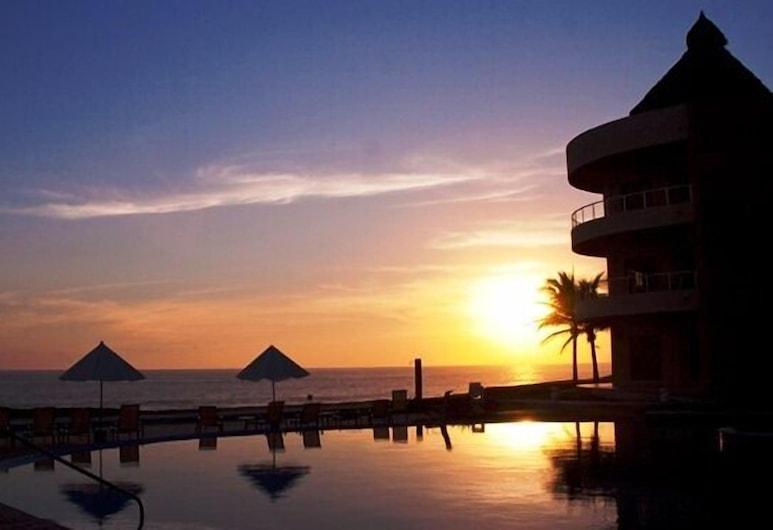 斯里海灘大公寓式客房, 納維達島, 住宿外的景色