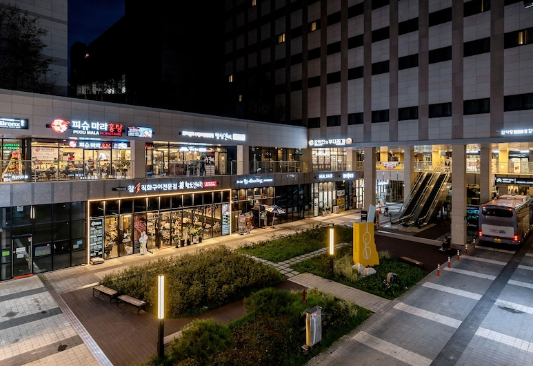 Days Hotel & Suites by Wyndham Incheon Airport, Incheon, Teras/Veranda