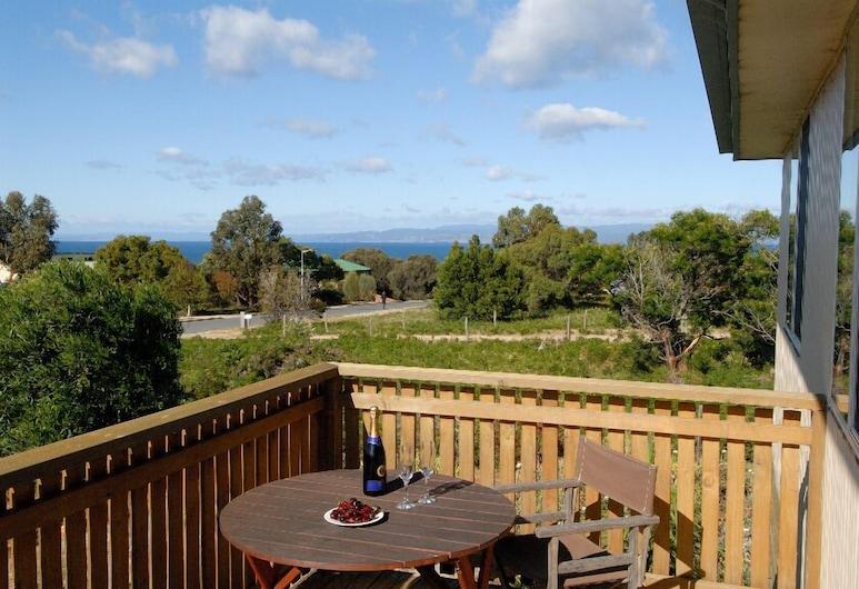 Ar Lan y Mor, Coles Bay, Standard-talo, 2 makuuhuonetta, Keittiö, Puutarha-alue, Parveke