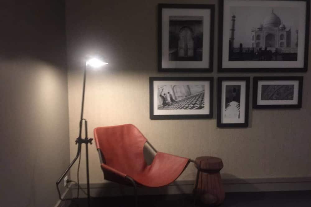 ลักซ์ชัวรี่อพาร์ทเมนท์, 2 ห้องนอน, วิวทะเล - ห้องนั่งเล่น