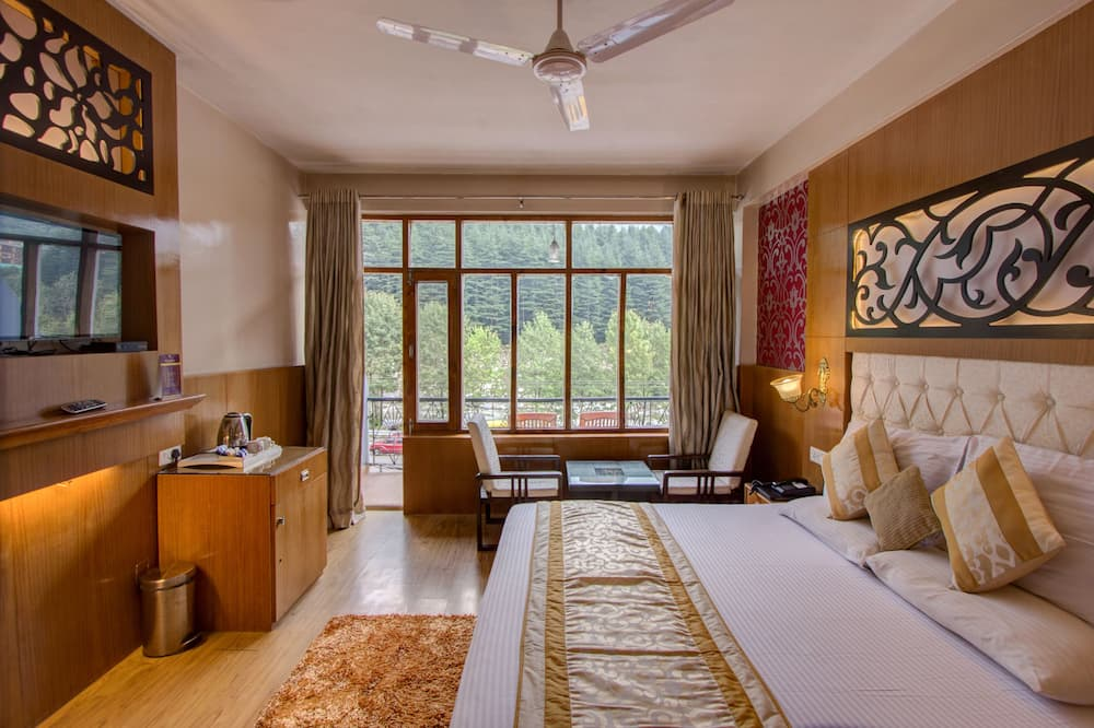 Honeymoon Double Room, 1 King Bed, Balcony, River View - Guest Room