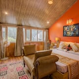 Royal Suite, 2 Bedrooms, Balcony, Mountainside - Living Area