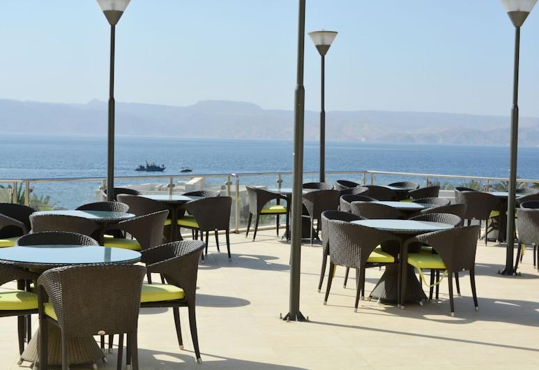 Public Security Hotel & Chalets, Aqaba, Terrasse/Patio