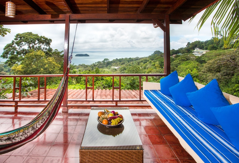 Villas Nicolás - Adults Only, Manuel Antonio, Deluxe Double Room with Balcony and Sea, Terrace/Patio