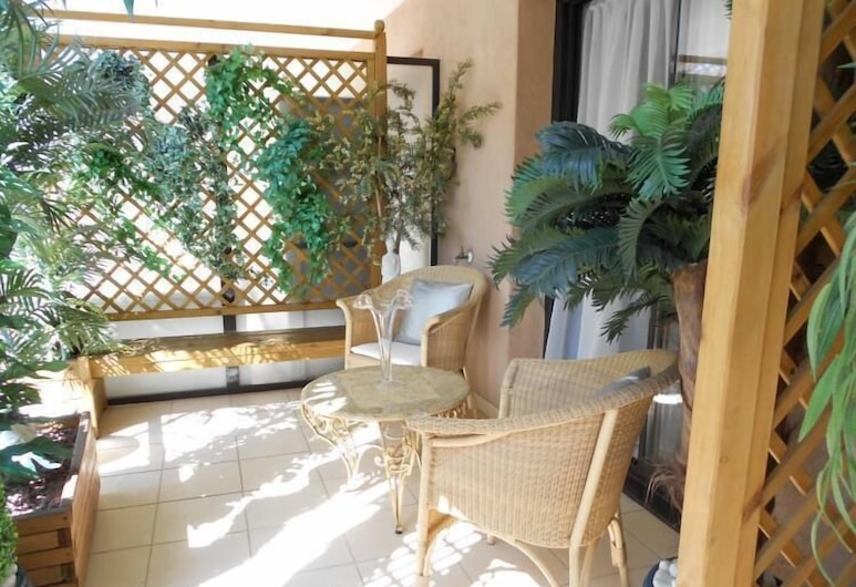 Jardin Ponant, Cannes, Departamento, 1 habitación, Terraza o patio