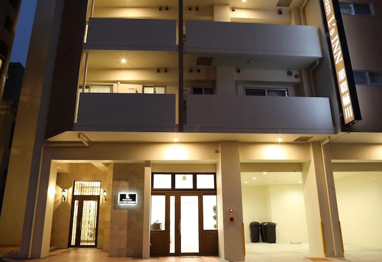 L 的公寓旅館, 那霸, 住宿正面 - 夜景