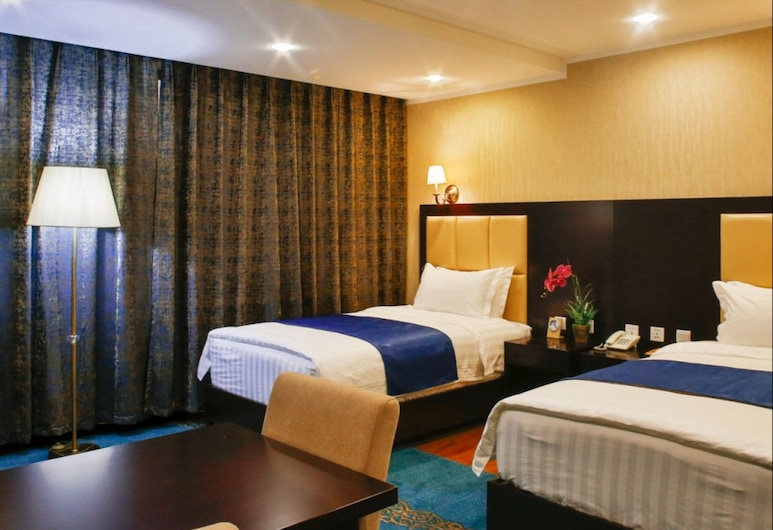 Ichmon Hotel, Ulaanbaatar, Quarto Twin Deluxe, Quarto
