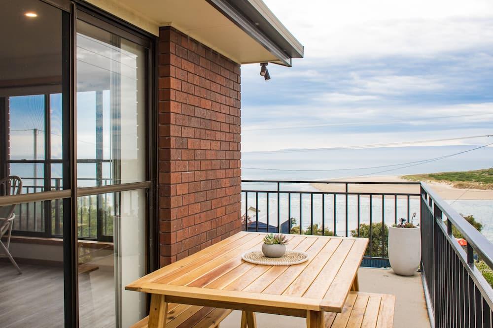 Standartinio tipo namas, 3 miegamieji, vaizdas į vandenyną, paplūdimyje - Balkonas