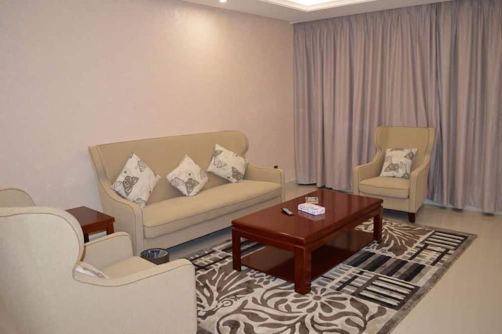 ห้องสวีท, 2 ห้องนอน - ห้องนั่งเล่น