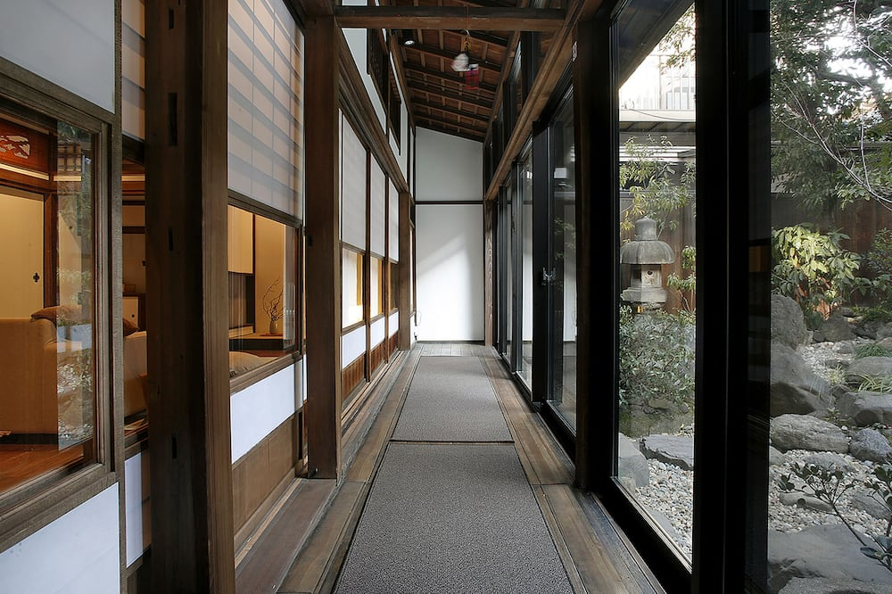 منزل تقليدي (Kyoto-style) - تِراس/ فناء مرصوف