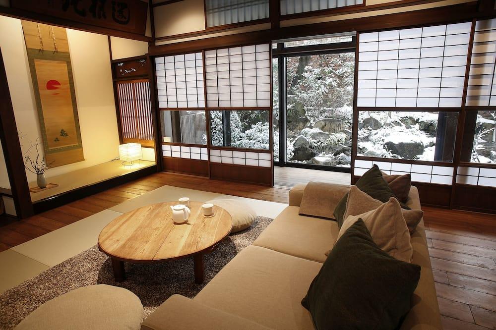 منزل تقليدي (Kyoto-style) - منطقة المعيشة