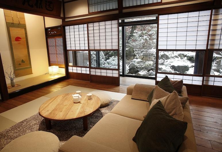 京都哈娜雷飯店, Kyoto, 傳統獨棟房屋 (Kyoto-style), 客廳