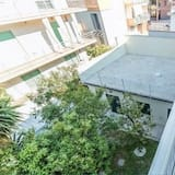 Apartament, 1 sypialnia, widok na ogród - Balkon