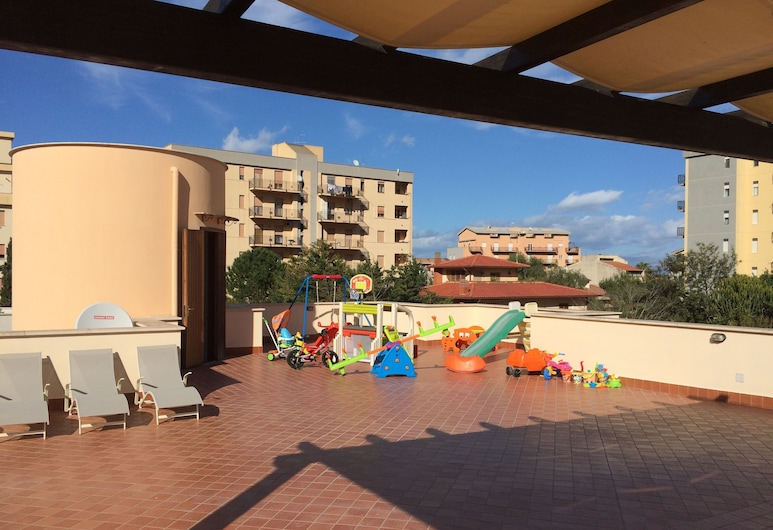 Villa Gelvi, Castellammare del Golfo, Terraza o patio