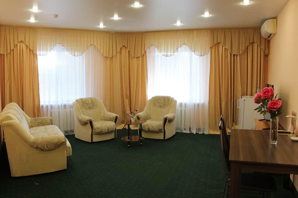 Suite, 1 chambre, salle de bains privée - Coin séjour