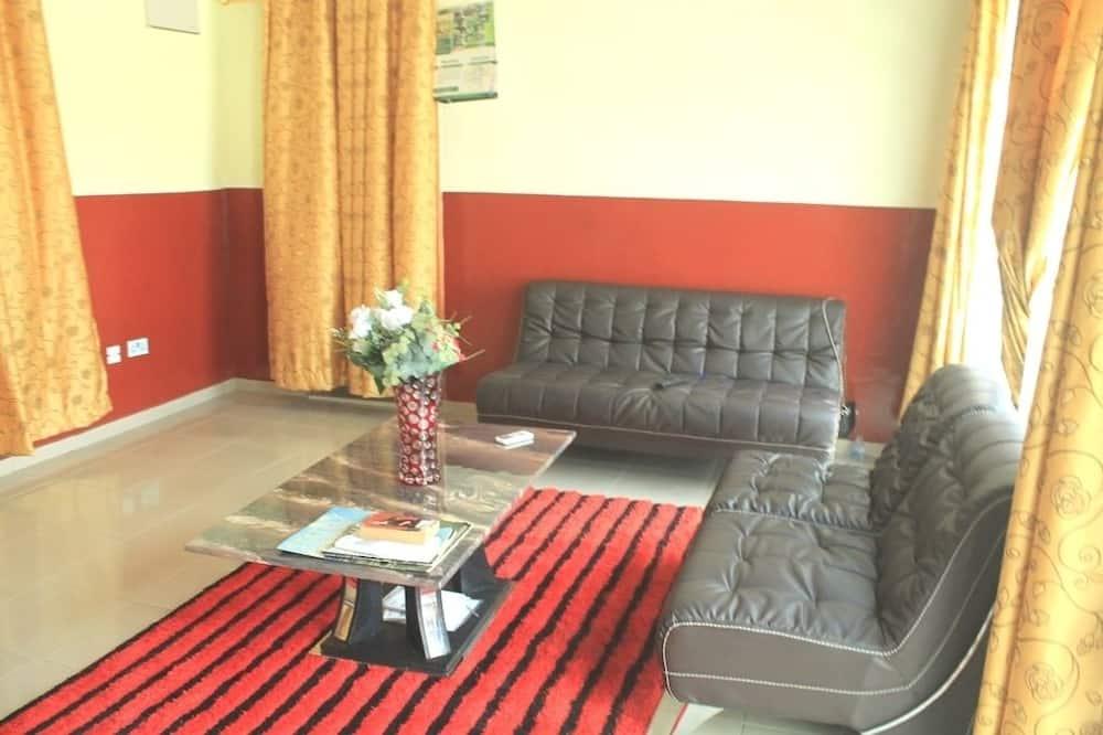 Pokoj Executive s dvojlůžkem, dvojlůžko (180 cm) - Obývací prostor
