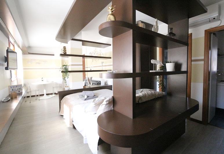 Bamboo Milano Vico, Milano, City Apart Daire, Sigara İçilmez, Özel Banyo, Oda