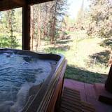 豪華聯排別墅, 4 間臥室, 熱水浴缸, 山景 - 私人 SPA 浴缸