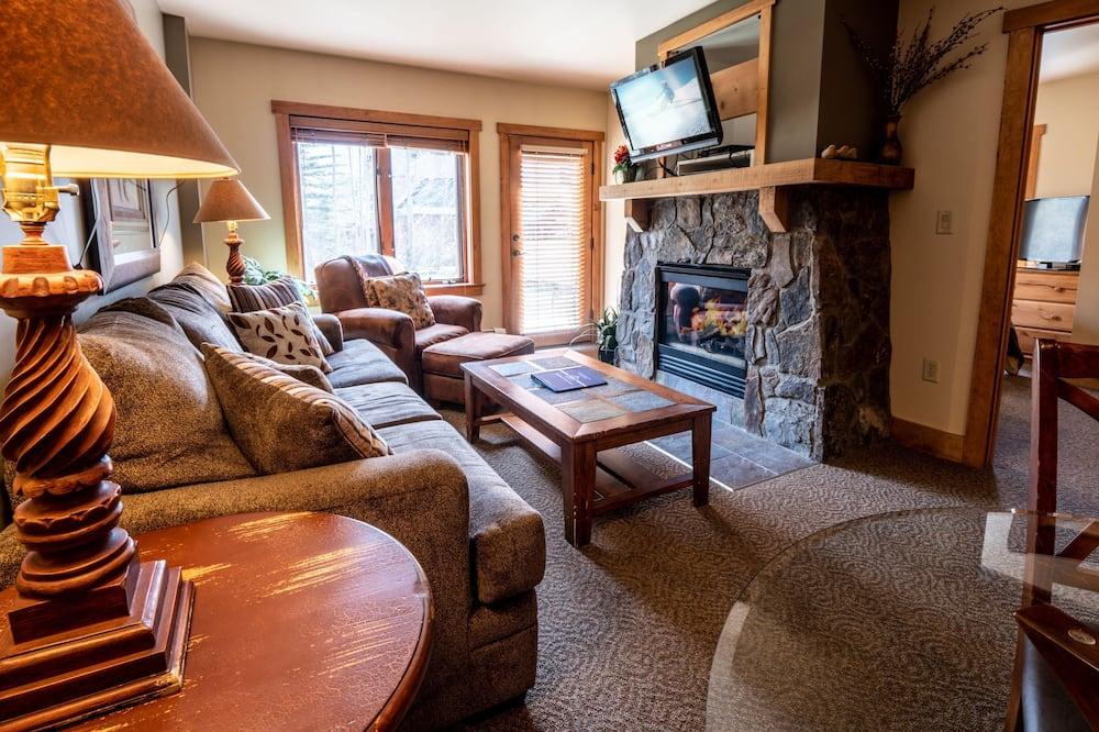 公寓客房, 多張床, 山谷景觀 (Red Hawk Lodge 2210) - 客廳