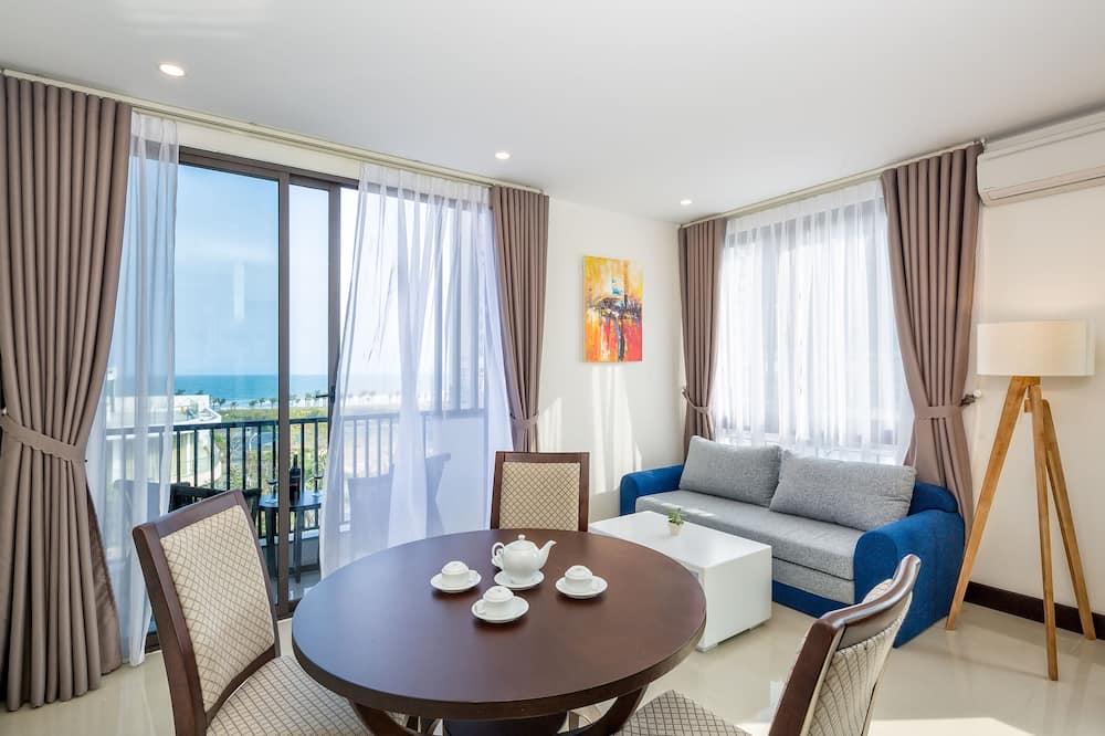 Apartament, widok na morze - Powierzchnia mieszkalna