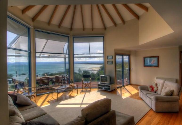 ووتر لاين, كولز باي, منزل مريح - ٣ غرف نوم - بمنظر للمحيط - مقابل البحر, منطقة المعيشة