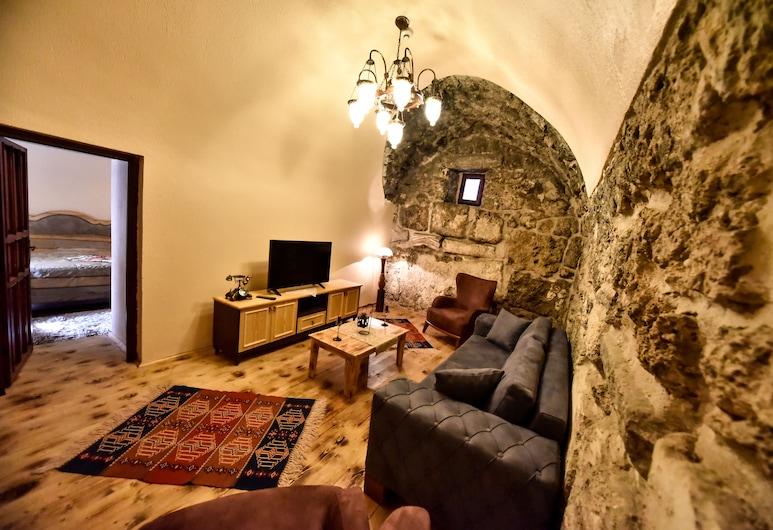 Akhan Kervansaray Hotel - Special Class, Denizli, Phòng Suite Executive, Khu phòng khách