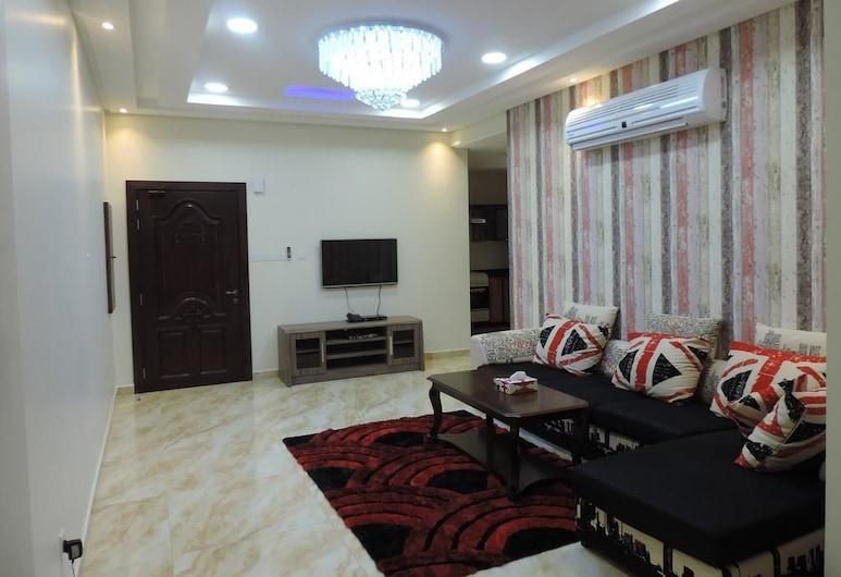 Sea Plaza, Manama, Apartment, 2 Bedrooms, Living Area