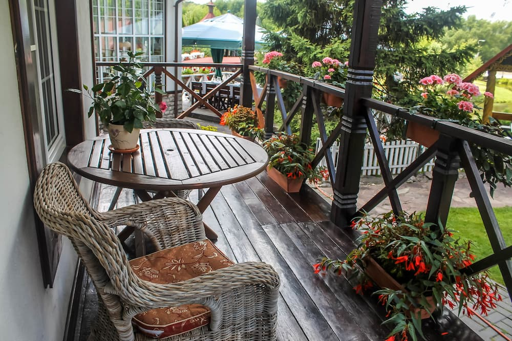 Kır Evi - Balkon