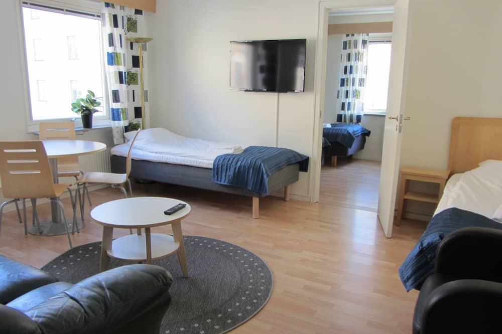Superior-Apartment, 2Schlafzimmer, Küche - Wohnbereich
