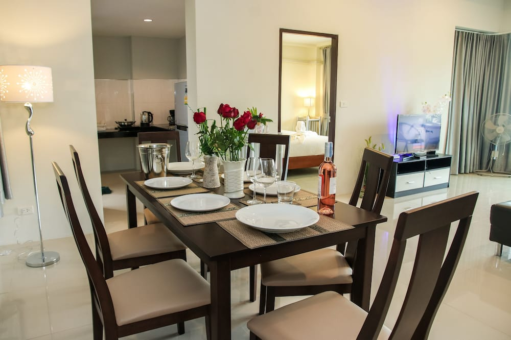 3 Bedrooms Vacation Home - 객실 내 다이닝