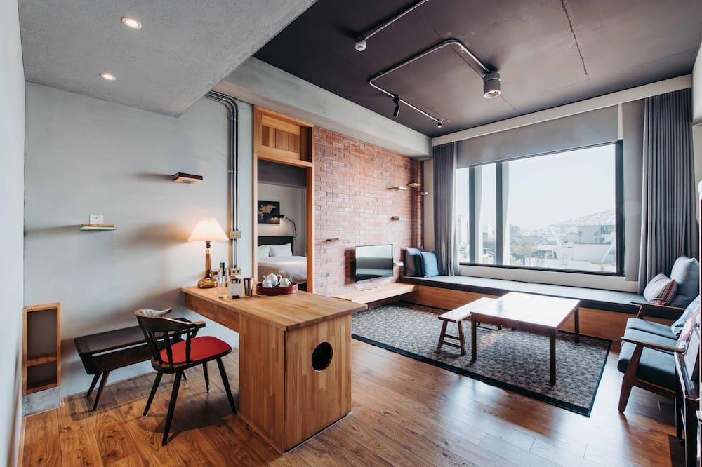 U.I.J Suite - Living Area