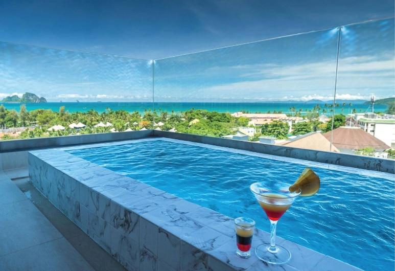 Panan Krabi Resort, Krabi, Deluxe Seaview with Outdoor Bathtub, Tuba