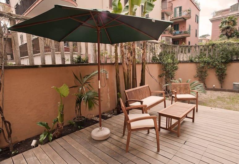 Rent In Rome - Vatican Deluxe, Rom, Lejlighed - 2 soveværelser, Terrasse/patio