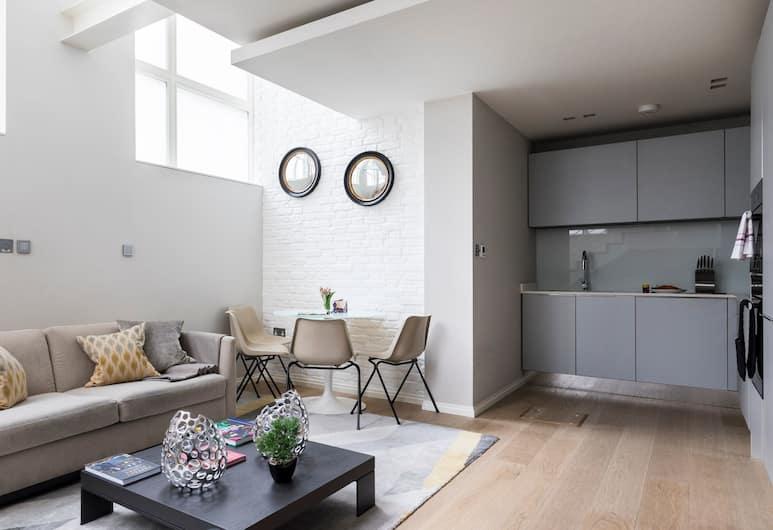 Fantastic, Modern 1BR in Covent Garden, London, Apartment, 1 Schlafzimmer, Wohnzimmer
