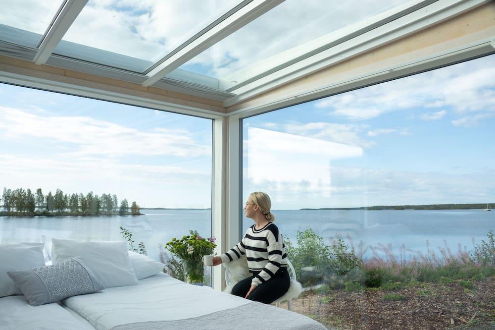 Premium-Villa, Kochnische, Meerblick - Zimmer