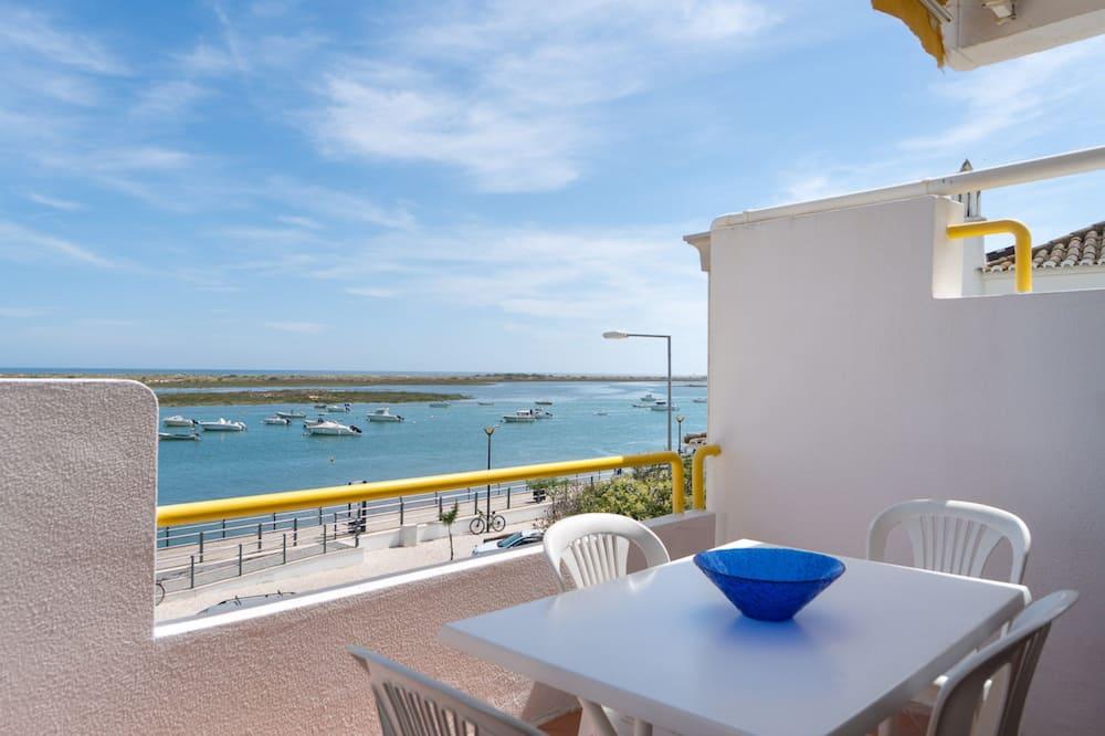apartman, 1 hálószobával, erkély, kilátással a tengerre - Erkély
