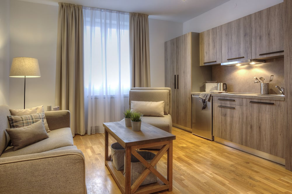 Studio, Mountain View (3 Adults: Sofa bed + Chairbed) - Living Area