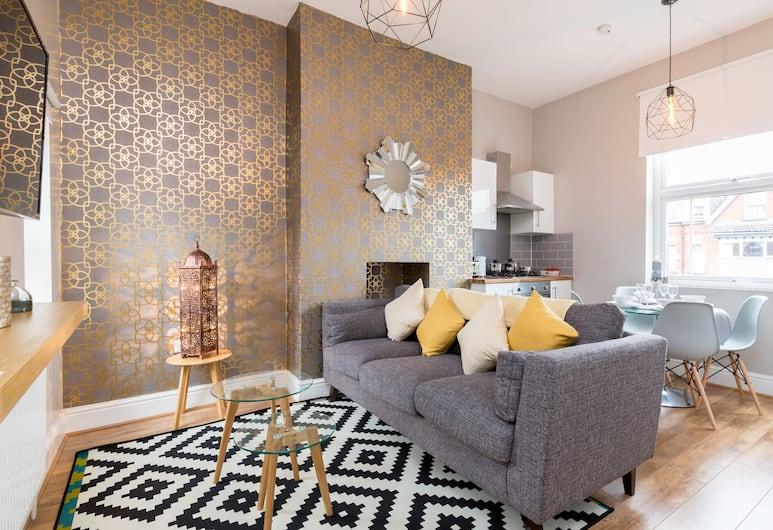 Stanmore suites, Birmingham, Classic-Apartment, 2Schlafzimmer, Executive-Etage, Ausblick vom Zimmer