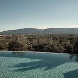 Suite Présidentielle, piscine privée - Vue depuis la chambre
