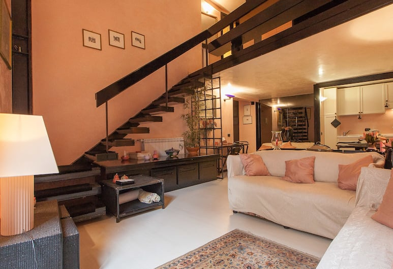Rental in Rome Orso Suite, Rome, Apartment, 1 Bedroom, Living Area