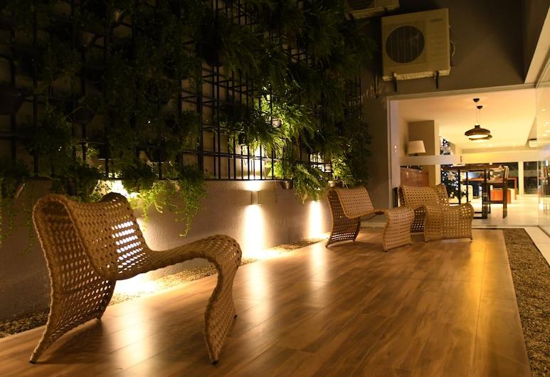 Taos Apart Hotel, סנטה קרוז, מרפסת/פטיו