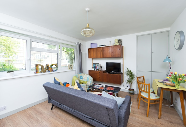 Amazing 1BR flat near Tower Bridge!, London, Apartment, 1 Schlafzimmer, Wohnzimmer