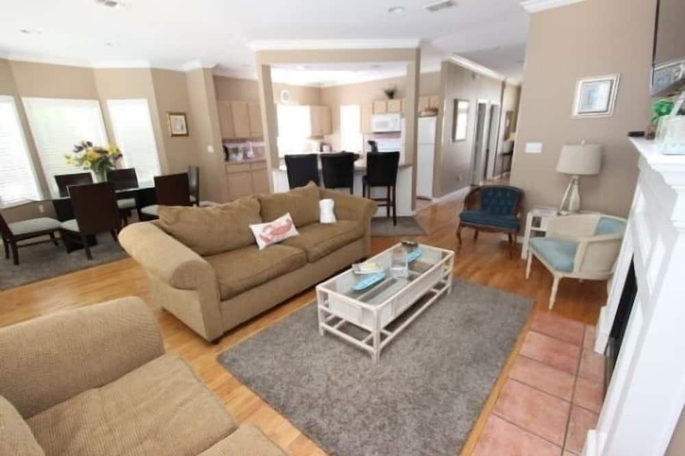 Huis, 5 slaapkamers - Woonruimte