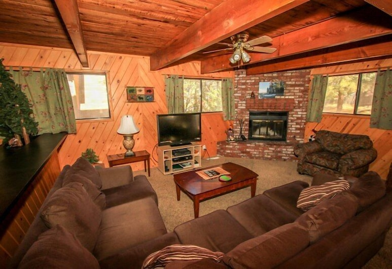 Family Fun House, Big Bear Lake, Cabin, 5 Bedrooms, Living Area