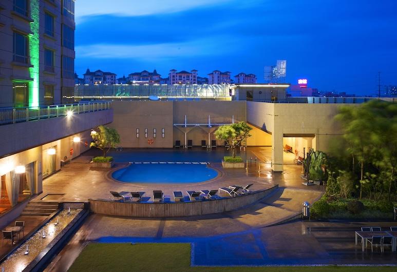 Cinese Hotel Dongguan Shijie, Dongguan, Piscine en plein air