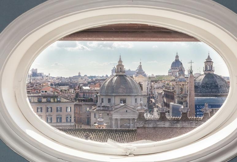 Rental in Rome Flaminio View Suite, Rom, Studiosuite, Ausblick vom Zimmer