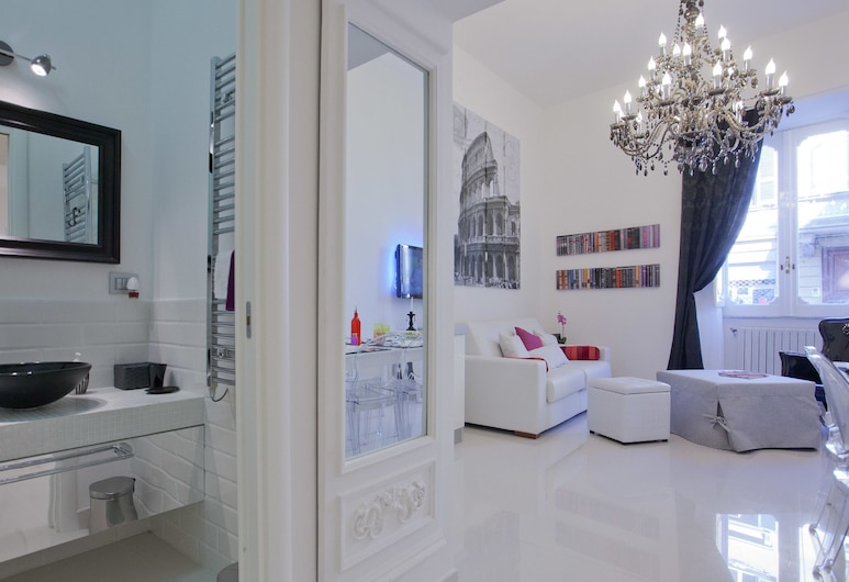 Rental in Rome Parma, Rome, Apartment, 1 Bedroom, Living Area