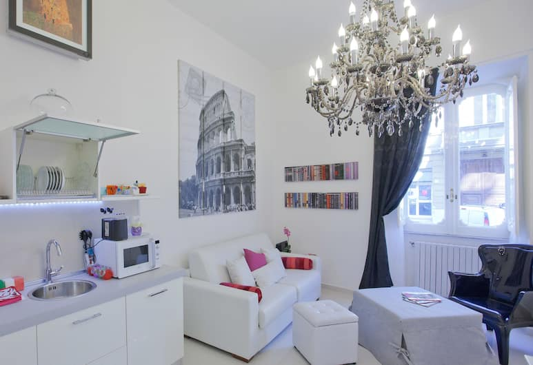 Rental in Rome Parma, Rom, Apartment, 1 Bedroom, Ruang Tamu