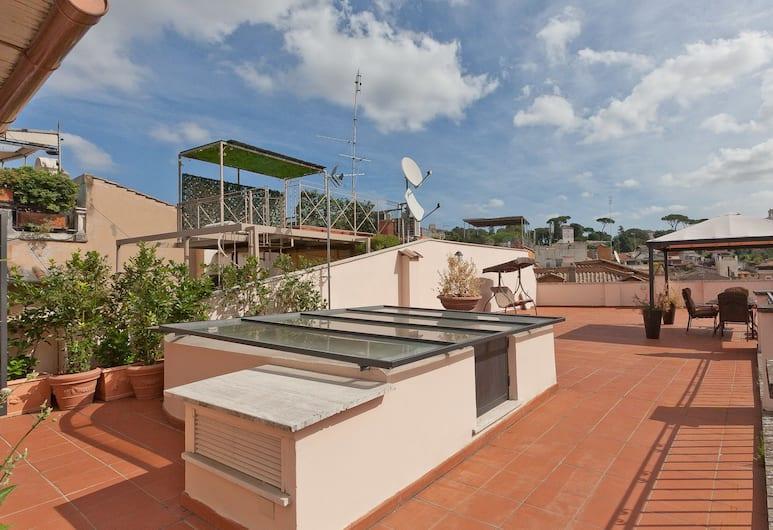렌탈 인 롬 디럭스 펜트하우스, 로마, 아파트, 침실 3개, 테라스/파티오