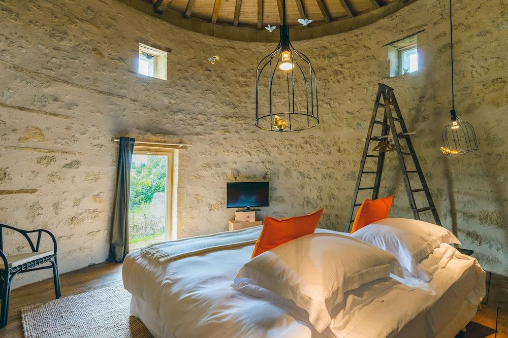 Comfort Double Room, Terrace (Le Pigeonnier) - Bathroom